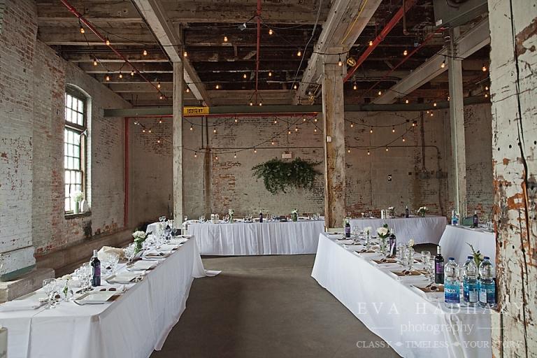 ZIBI Ottawas Industrial Wedding Venue Hosted Its Very 1st Wedding
