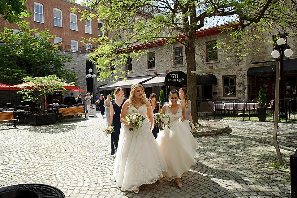 Same sex wedding photography Ottawa - Eva Hadhazy Photographer Ottawa Sidedoor restaurant weddings
