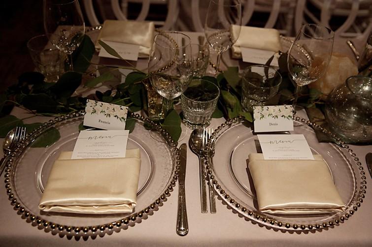 Restaurant18 wedding reception